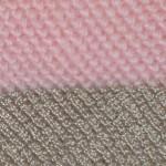 Тунисская вязка разными нитками