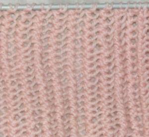 Ажурное полотно турецкой вязкой