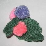 Украшение для шарфа или шапки